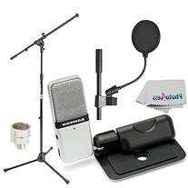 Samson Go Mic Portable USB Condenser Microphone Bundle with