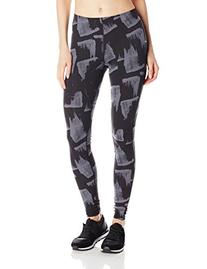 Champion Women's Go-To Workout Legging, Black Smudge Art,