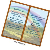 """God Whispered"" Pet Memorial Picture Frame and Pet Loss"