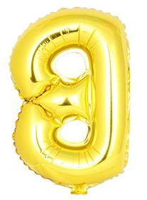 USPRO 42 Inch Gold Letter B Balloon