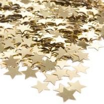 Gold Confetti Stars