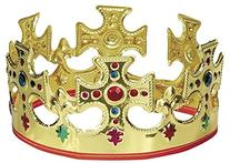 Adjustable Plastic King Crown