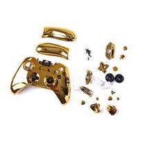 Gold Full Replacement Housing Shell for Xbox One Controller