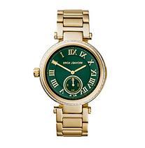 Michael Kors Goldtone Skylar Watch with an Emerald Green