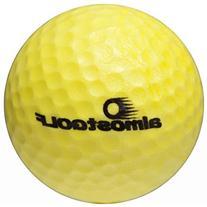 almostGOLF – Practice Golf Balls – 10 Pack – Yellow