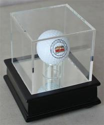 Golf Ball Display Stand Case GB13-BLA