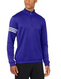adidas Golf Men's Climalite Long Sleeve/Layering 3-Stripe