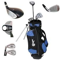 Confidence Junior Golf Club Set w/Stand Bag for kids Ages 8-