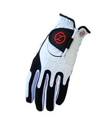 Zero Friction Junior Golf Gloves, Left Hand, One Size, White