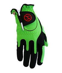 Zero Friction Men's Golf Gloves, Right Hand, One Size, Lime