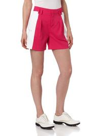 Puma Golf NA Women's Color Block Shorts, Cabaret/White, 4
