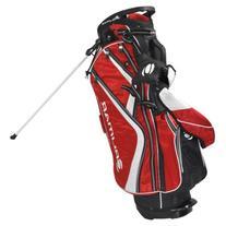 Orlimar Golf OS 7.8+ Stand Bag, Red/Black/White Staff