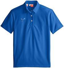 Puma Golf Boys Junior Tech Polo, Strong Blue, Large