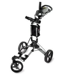 Bag Boy TriSwivel II Push Golf Cart, Silver