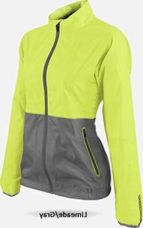 Sun Mountain Golf- Ladies Waterproof Cirrus Jacket Limeade/