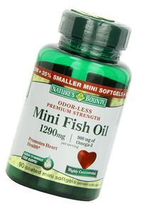 Nb Odorless Mini Fish Oil Size 90ct