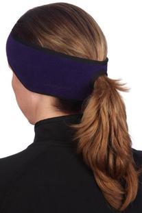 TrailHeads Women's Ponytail Headband - black/black