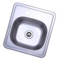 Gourmetier GKTS1515 Self-Rimming Single Bowl Bar Sink,