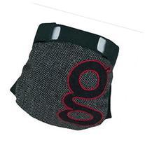 gDiapers gPants George Medium Reusable Diaper - Black and