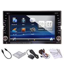 "GPS Navigation In-Dash 6.2"" 2 DIN Car Dvd Player Vehicle"