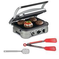 Cuisinart GR-4N Griddler Stainless Steel 5-in-1 Grill/