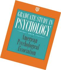 Graduate Study in Psychology: 2016