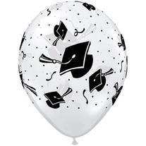 Graduation 11 Inch Latex Balloons Package of 25