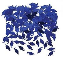 Creative Converting Graduation Caps Confetti, Blue