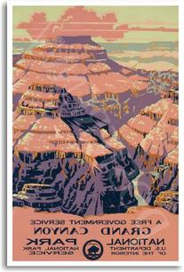 Grand Canyon - National Park - NEW World Travel Poster