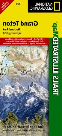 Grand Teton National Park - Trails Illustrated Map # 202