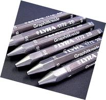 Set of 3 Lyre Graphite Sticks- 1ea 2B 6B 9B