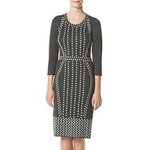Taylor Dresses Graphite Sweater Dress