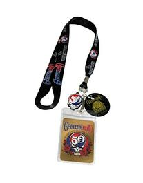 Lanyard with Charm Grateful Dead 50th Anniversary Lanyard