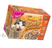 Friskies Gravy Sensations Variety Pack Pouched Cat Food 12