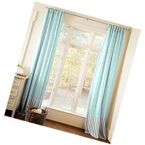 Carousel Designs Gray and Aqua Arrow Stripe Drape Panel 84-
