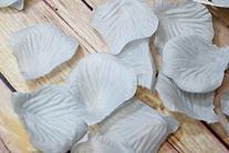 Quasimoon Gray / Grey Silk Rose Petals Confetti for Weddings