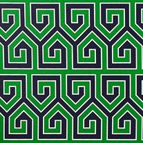 Jonathan Adler Greek Key Cover - Green