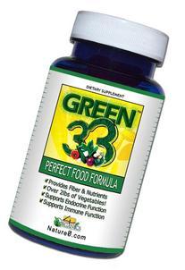 GREEN 33 Vegetable Greens Daily Super Green Formula/