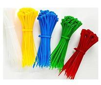 "Domire Pack Of Green 500 8"" Plastic Cable Zip Ties"