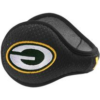 Green Bay Packers 180s Black Ear Warmers by Reebok