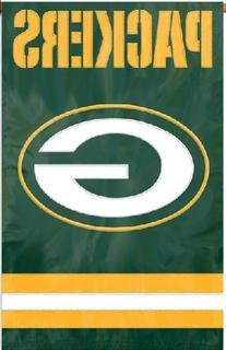 Green Bay Packers Nfl Applique Banner Flag