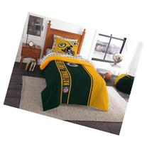 NFL Green Bay Packers Soft and Cozy Bedding Comforter Set