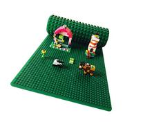 "Icellent Green Silicone Brick Building Play Mat, 12"" x 32"""