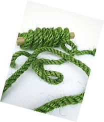 100' Green Sisal Rope, Dyed Avocado Color