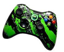 Green Splatter 5000+ Modded Xbox 360 Controller