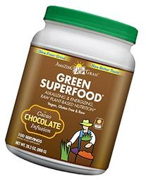 Amazing Grass Green SuperFood Drink Powder, Chocolate, 28 oz