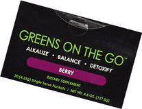 It Works! Greens On The Go Nutritional Supplement, Berry, 30