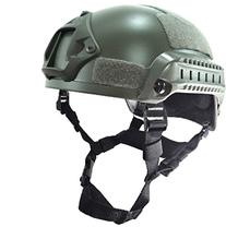 OSdream Grey MICH Low Price Version Helmet for Airsoft