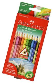 Grip Colored Ecopencils 12/Pkg- Multi-Colored