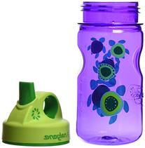 Nalgene Grip 'n Gulp Sea Turtles Bottle, Purple